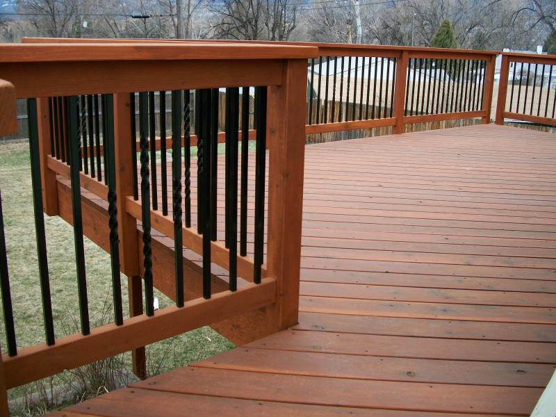 Deck types colorado springs decks by schmillen for Types of balcony