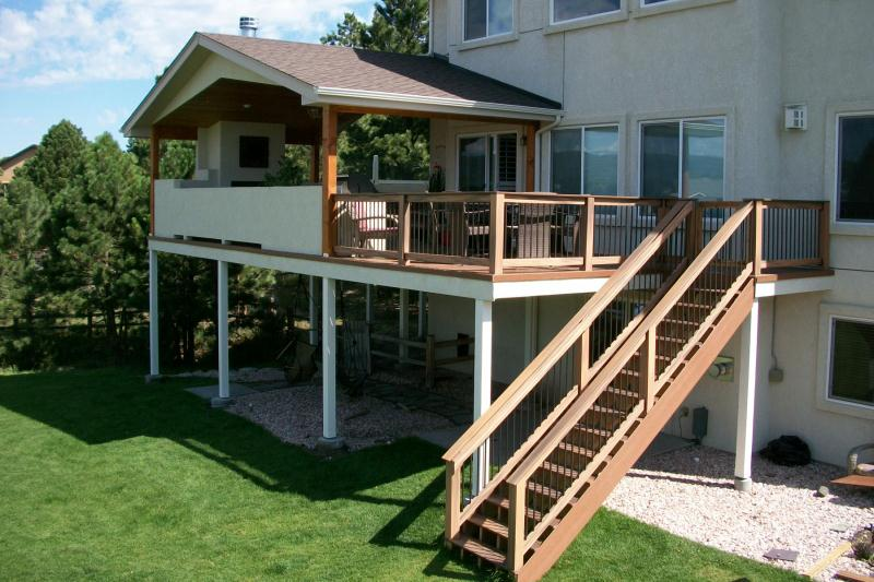 Deck Covers Amp Trellis Colorado Springs Decks By Schmillen