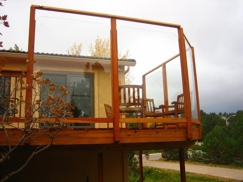 Wind Breaks Colorado Springs Decks By Schmillen